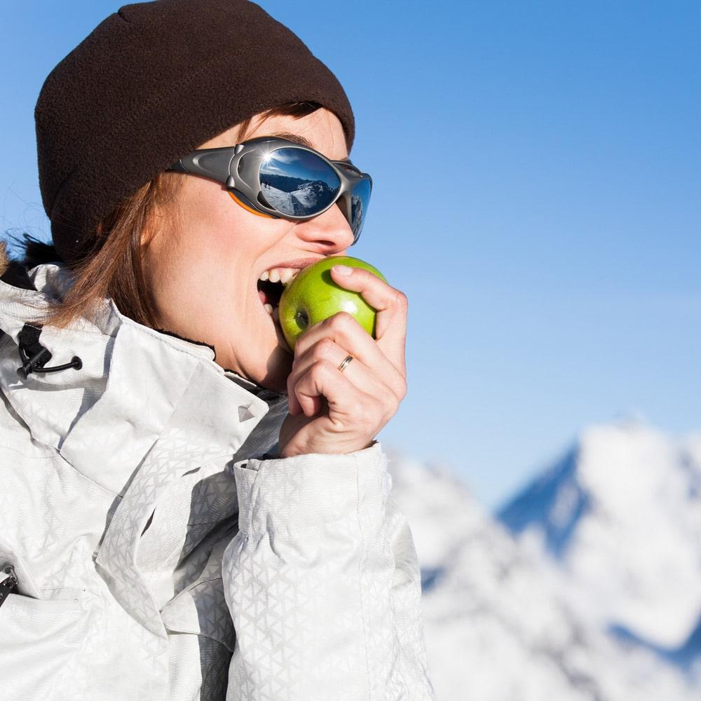 Des vacances au ski sans gluten