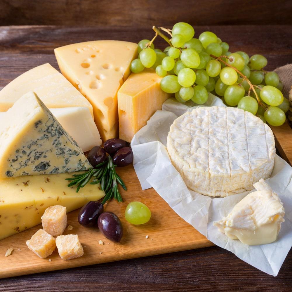 Les fromages et le gluten