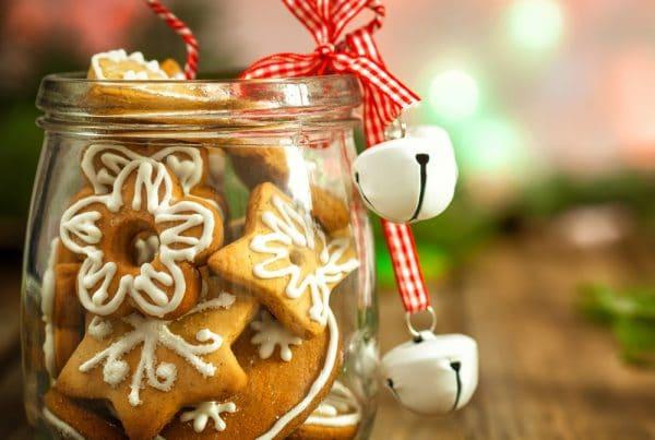 Cadeaux de Noël gourmands et sans gluten.