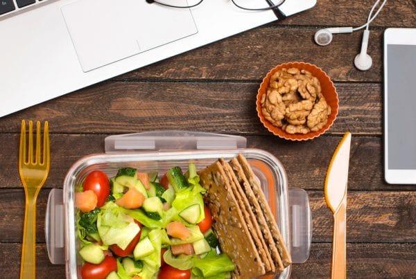 Comment manger sainement et sans gluten quand on manque de temps ?