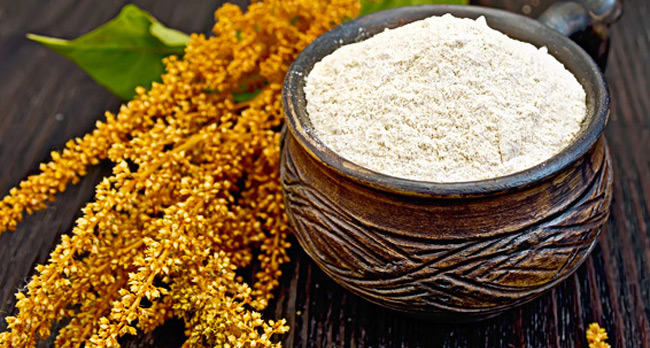 Farine d'amarante sans gluten
