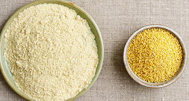 Farine de millet sans gluten