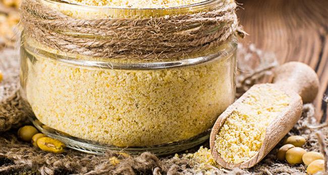 Farine de soja sans gluten