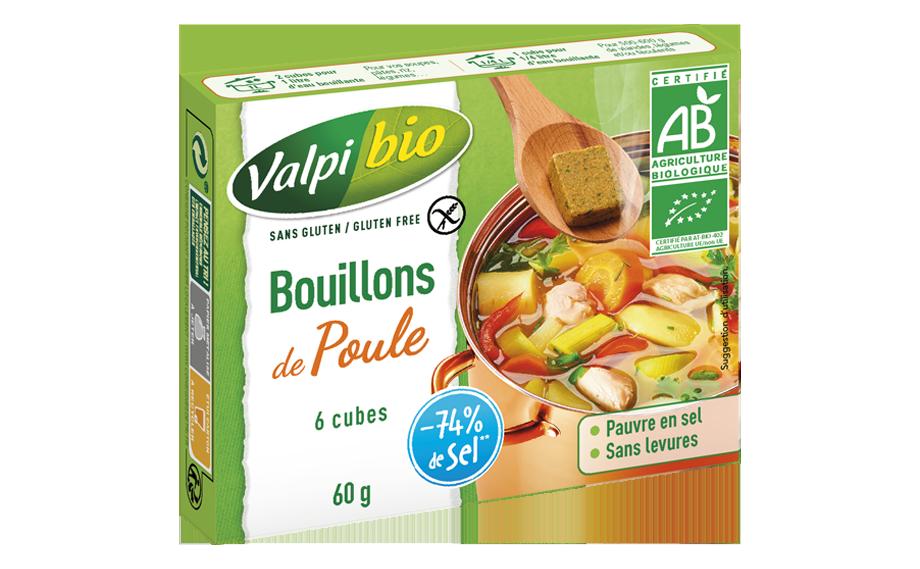 Bouillon cubes poule