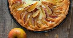 Gâteau moelleux sans gluten aux pommes et aux amandes
