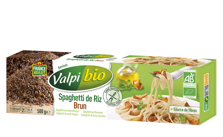 Spaghetti de riz brun
