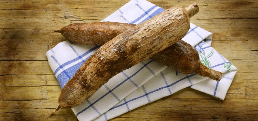 Les aliments sans gluten : le manioc