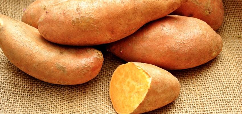 Les aliments sans gluten : La patate douce