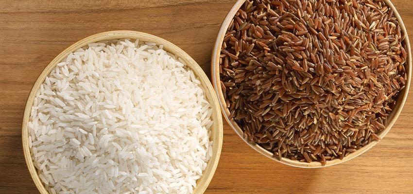 Les aliments sans gluten : riz & riz brun