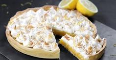 Tarte au citron meringuée, sans gluten