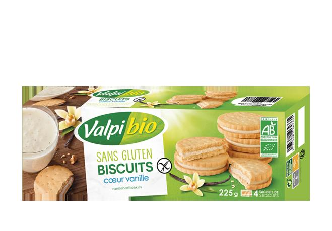 Biscuit cœur vanille
