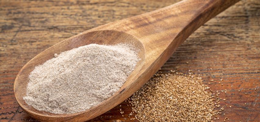Les aliments sans gluten : Teff